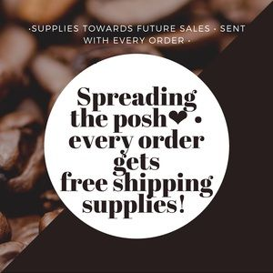 FREE Shipping Supplies W/EVERY order!! ⬇️see below